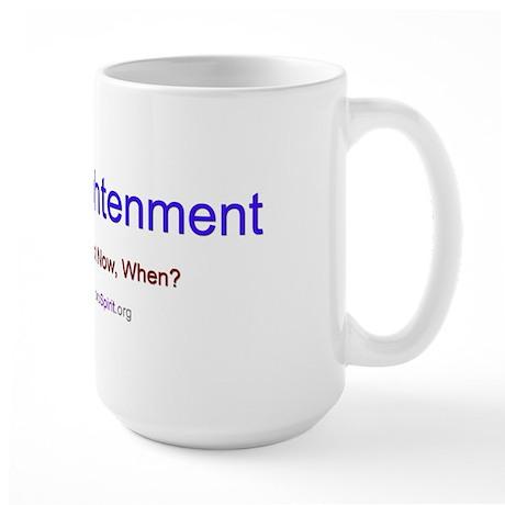Enlightenment - Dalai Lama - Large Mug