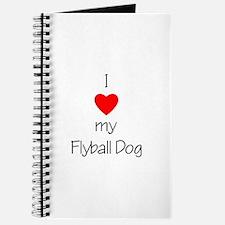 I Love My Flyball Dog Journal