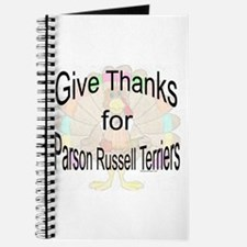 Thanks for Parson Russell Journal