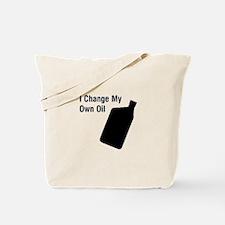 I change my own oil Tote Bag
