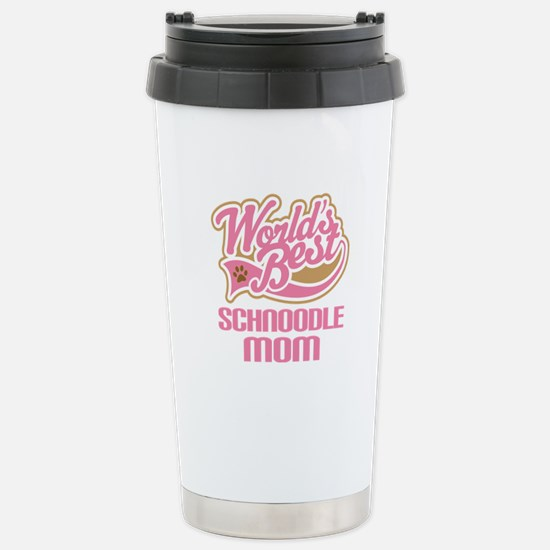 Schnoodle Mom Stainless Steel Travel Mug