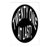 21 At Last Postcards (Package of 8)