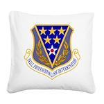 321 AEW Square Canvas Pillow