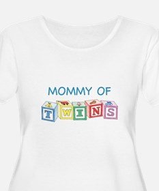 MOMMY twins Plus Size T-Shirt