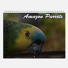Amazon Parrot Wall Calendar