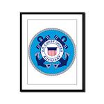 USCG Auxiliary Framed Panel Print