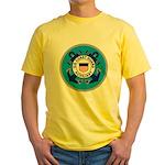 USCG Auxiliary Yellow T-Shirt