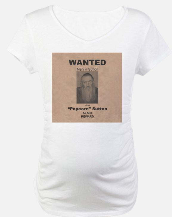 Popcorn Sutton Wanted Poster Shirt