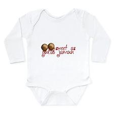 Cute Desirage Long Sleeve Infant Bodysuit