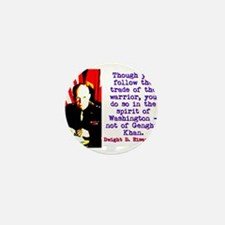 Though You Follow The Trade - Dwight Eisenhower Mi