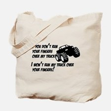 If you dont run your fingers.png Tote Bag