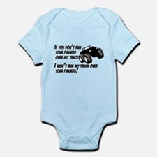 If you dont run your fingers.png Infant Bodysuit