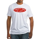 21 At Last Fitted T-Shirt