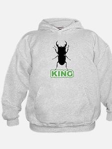 Funny Stag beetle Hoodie