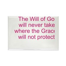 The Will of God Rectangle Magnet