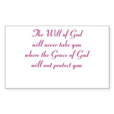The Will of God Bumper Stickers