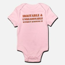 """Irritable"" Infant Bodysuit"