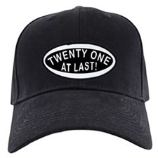 21 At Last Baseball Hat