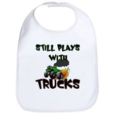 Still Plays With Trucks Bib
