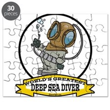 WORLDS GREATEST DEEP SEA DIVER CARTOON.png Puzzle