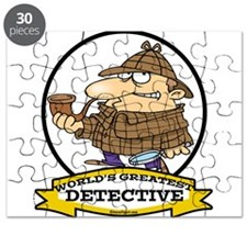 WORLDS GREATEST DETECTIVE III CARTOON.png Puzzle