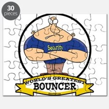 WORLDS GREATEST BOUNCER CARTOON.png Puzzle