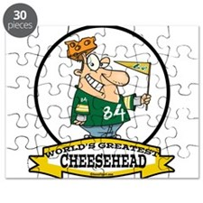 WORLDS GREATEST CHEESE HEAD CARTOON.png Puzzle
