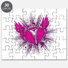 funky unzipped heart vector illustration.png Puzzl