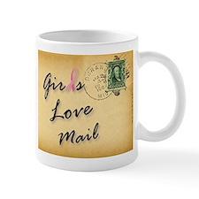 Girls Love Mail Letter Lover Mugs