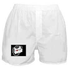 Sting Ray in I Heart Shirt Boxer Shorts