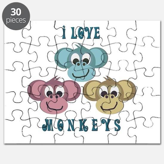 i love monkeys2.png Puzzle