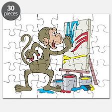artist monkey.png Puzzle