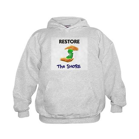 New Jersey Restore The Shore Kids Hoodie
