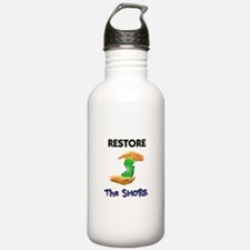 New Jersey Restore The Shore Water Bottle