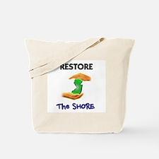 New Jersey Restore The Shore Tote Bag