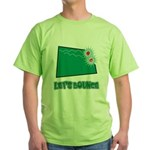 Lets Bounce Dice.png Green T-Shirt