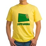 Lets Bounce Dice.png Yellow T-Shirt