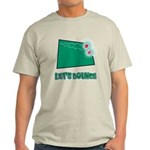 Lets Bounce Dice.png Light T-Shirt