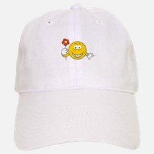 smiley10.png Baseball Baseball Cap