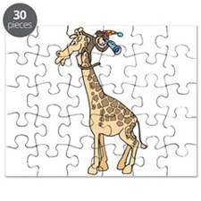 silly monkey and giraffe.png Puzzle