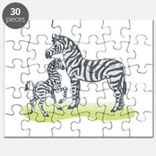 mommy and baby zebra.png Puzzle
