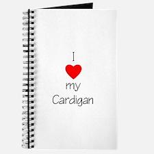 I Love My Cardigan Journal
