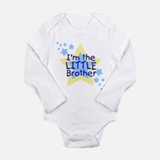 I'm the Little Brother Infant Creeper Body Suit
