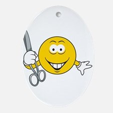 smiley36.png Ornament (Oval)