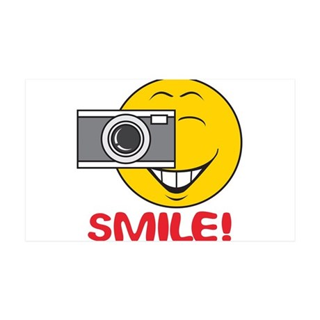 smiley73.png 35x21 Wall Decal