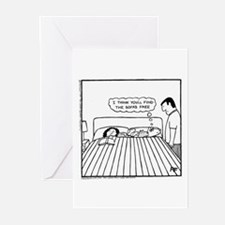 Seven's a Crowd - Greeting Cards (Pk of 20)