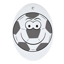 smiley219.png Ornament (Oval)