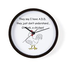 ADD Chicken Wall Clock