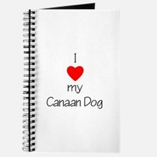 I Love My Canaan Dog Journal