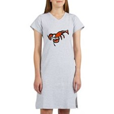cute cartoon lobster.png Women's Nightshirt